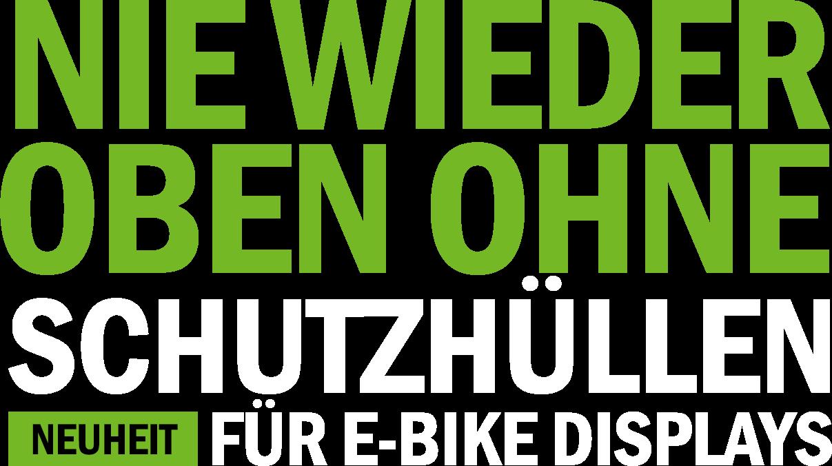 Schutzhüllen für E-Bike Displays